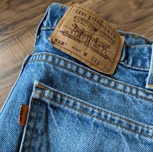 Vintage Orange Tab Levi's 🍊 518 Jeans - 33X30